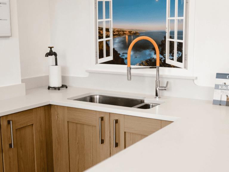 Custom kitchen worktop