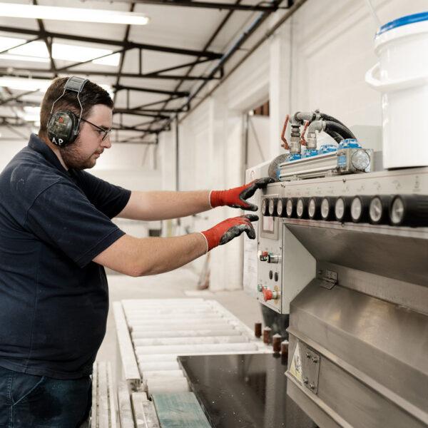 Bespoke worktop manufacturing