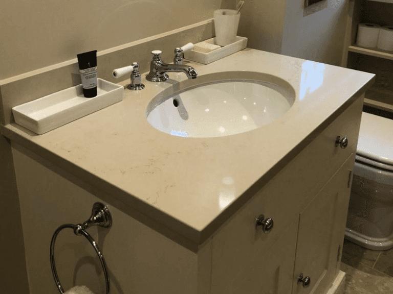 Custom bathroom sinktop