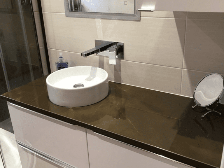 Bathroom stone surfaces