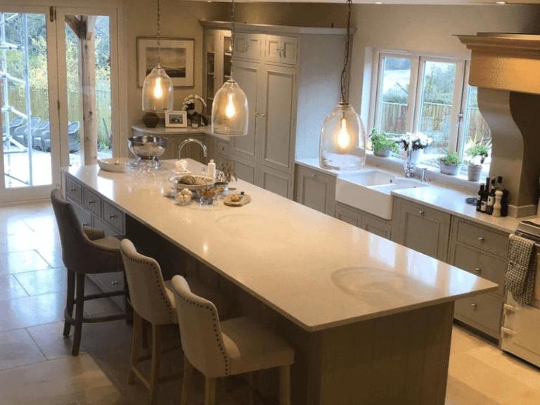 Kitchen island worktop