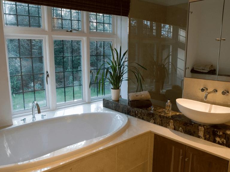 custom bathroom worktops
